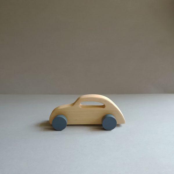wooden kids retro toy sport car