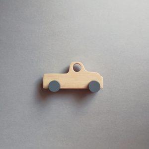 wooden kids retro toy truck