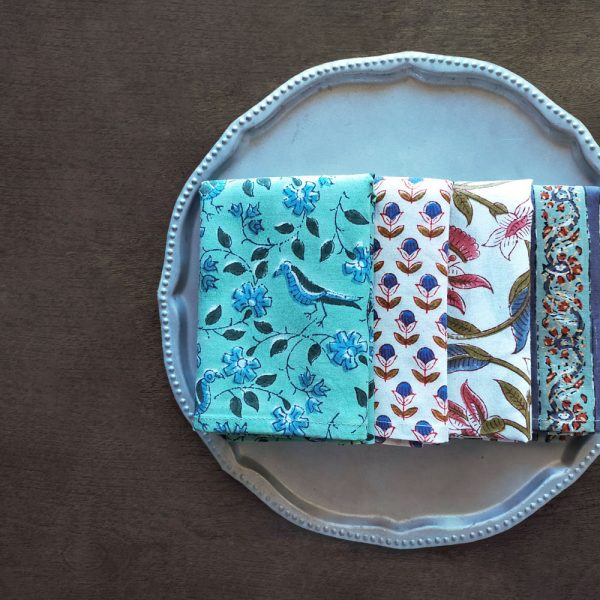 INDIAN COTTON HANDKERCHIEF-2