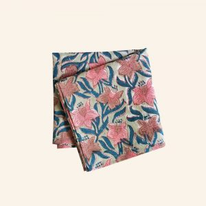BLOCK PRINTED HANDKERCHIEF-05