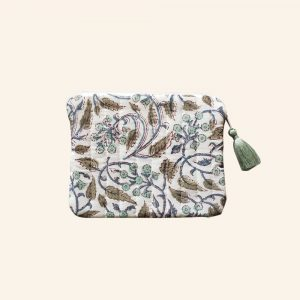 QUILTED BLOCK PRINTED EVERYDAY POUCH-05