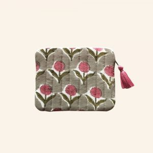 QUILTED BLOCK PRINTED EVERYDAY POUCH-02